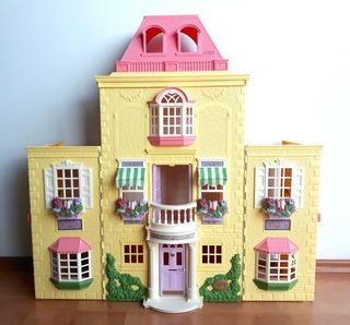 Fisher Price Loving Family Twin Time Casa De Muñecas 3+