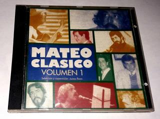 Cd Eduardo Mateo Clasico Volumen 1 Sondor 1994 Oka
