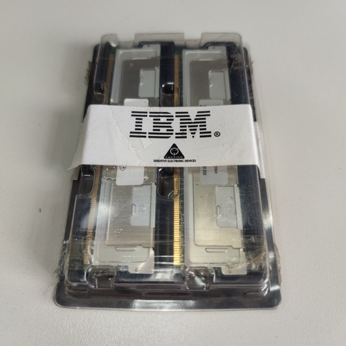 Kit Com 2 Memorias Ibm 4gb ( 2rx4 ) Pc2-5300f-555 - Vsp-009