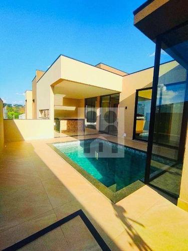 Imagem 1 de 21 de Casa Com 4 Dormitórios À Venda, 319 M² Por R$ 1.850.000,00 - Alphaville Iii - Ribeirão Preto/sp - Ca1023