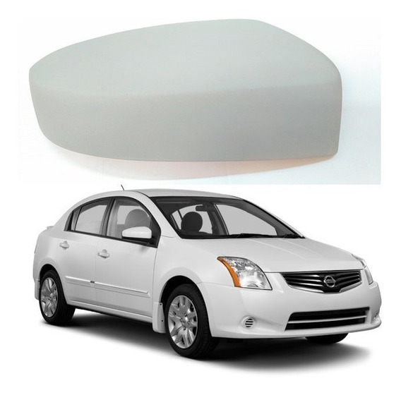Capa Retrovisor Nissan Sentra 07/2011 Direito Material Fibra