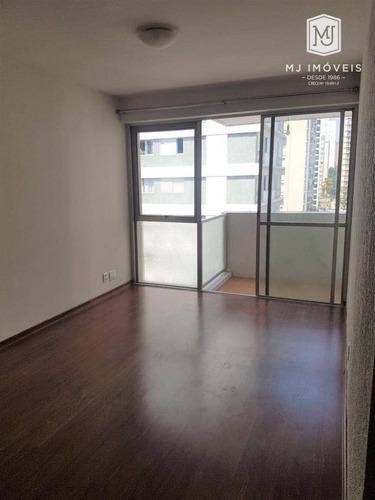 Apartamento Com 3 Dormitórios, 90 M² - Venda Por R$ 1.100.000,00 Ou Aluguel Por R$ 3.000,00/mês - Moema - São Paulo/sp - Ap0354