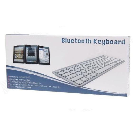 Teclado Sem Fio Bluetooth Tablet E Celular Android Ios Windo