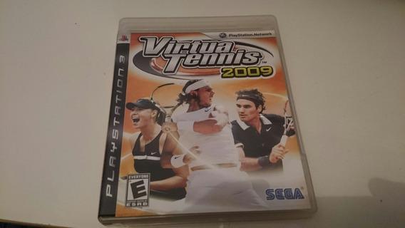 Virtual Tennis 2009 Ps3 Mídia Física Frete Grátis