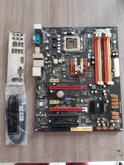 Placa Mãe Ecs P45t-a Black Series 775