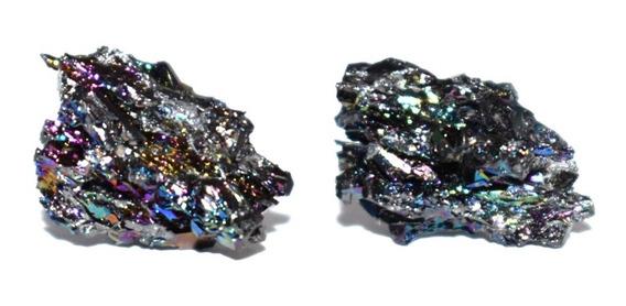 Aretes De Piedra Mineral Carburo De Silicio