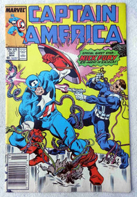 Captain America Nº 351: Changing Of The Guard - Nick Fury