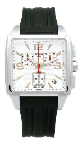 Reloj Tissot Quadrato Negro Cronómetro T005.517.17.277.00