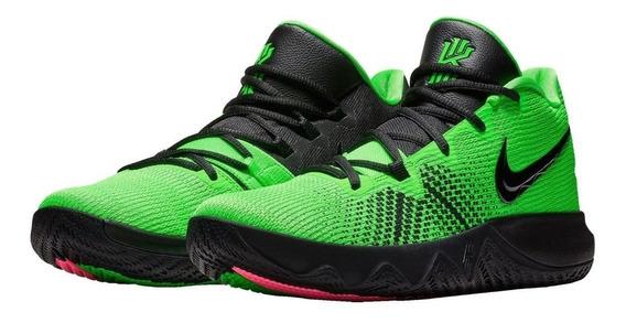 Tenis Basquet Nike Kyrie Flytrap Verde #6 Al 28.5 Cm No Lebron