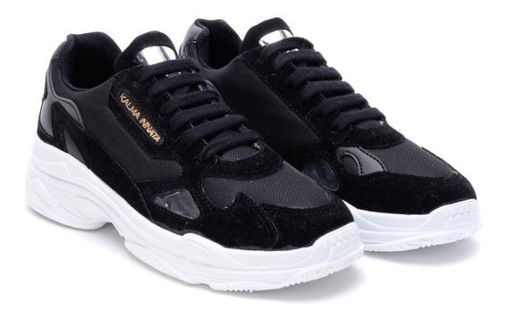 Zapatillas Urbanas Mujer Moda Plataformas Sneakers Blancas