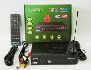 Decodificador Tdt Receptor Tv Digital Dvb T2 7 Botones