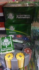 Kit Poker Palmeiras,santos,são Paulo E Corinthians