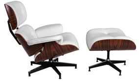 Charles Eames Com Puff - Direto Da Fábrica C Natural