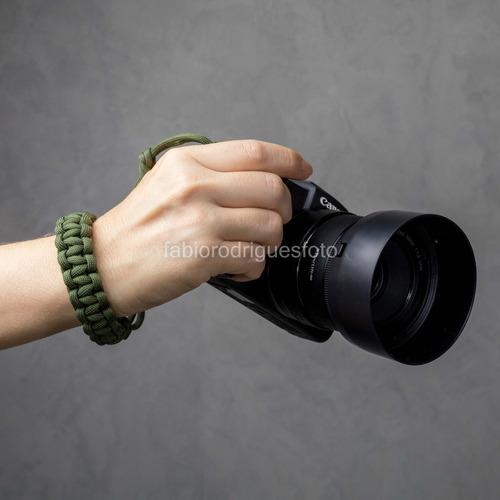 Pulseira / Alça De Pulso Em Paracord Para Câmera Fotográfica