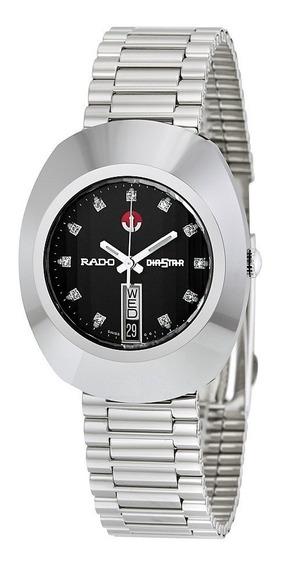 Reloj Rado R12408613 The Original Automático Plateado/negro*