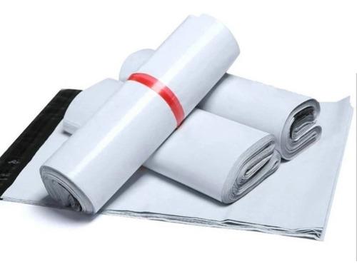 Imagen 1 de 8 de Pack 100 Sobre Bolsas Plásticas Courier Autoadhesivo 32x46cm