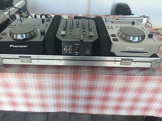 Par De Cdj 350 + Mixer Vmb 200 Behringer
