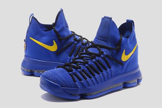 Tênis Kd Kevin Durant 9 Elite Azul C/caixa Usado Kyrie Kobe