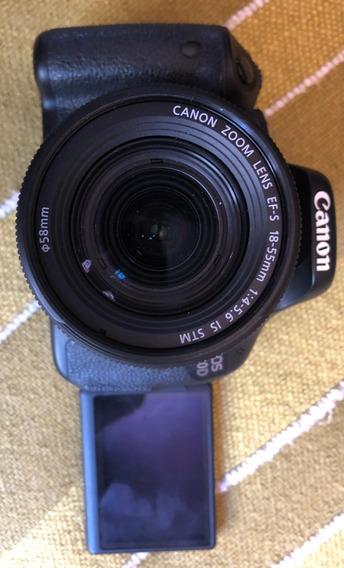 Canon T3i(600d)+lentezoom18-55 1:4-5.6is+bater Na Embalagem