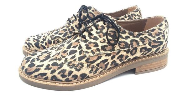Chata Mocasin Acordonado Mujer Calzado Zapato Cuero 130/mk