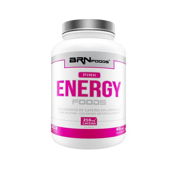 Pré Treino Pink Energy 60caps - S/ Juros - 2 = Frete Grátis!