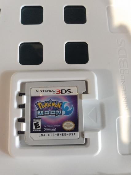 Pokémon Moon Nintendo 3ds Mídia Física