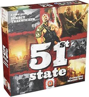 Juego De Mesa Del 51 Set State Master Set