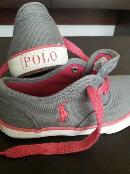 Zapatillas Usadas Nena Marca Polo