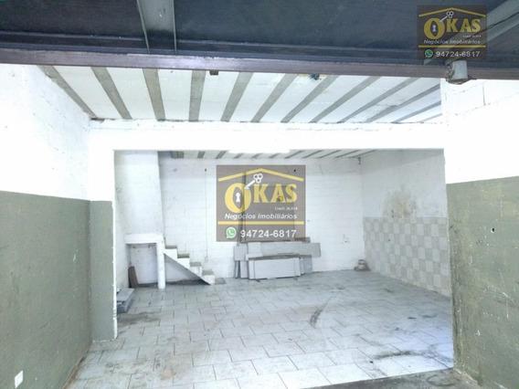 Galpão Para Alugar, 140 M² Por R$ 1.600/mês - Jardim Aeródromo Internacional - Suzano/sp - Ga0020