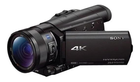 Filmadora Sony 4k - Modelo Fdr Ax100 - 20 Megapixels