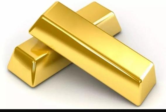 Ouro Em Barra Ou Laminado 18 Kilates 750. Codigo Au 750