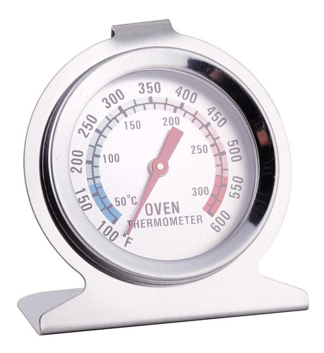 Termometro Para Horno Alta Temperatura Inoxidable Vidrio Emn