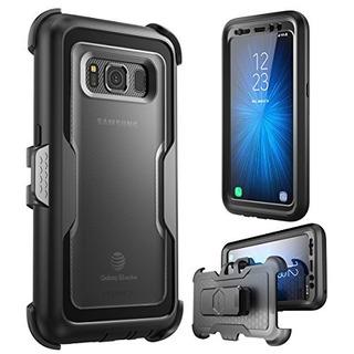 I-blason Galaxy S8 Active Case, [magma] [cuerpo Completo] [h