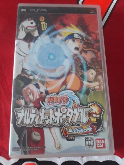 Naruto Japones Psp Original Campinas