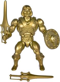 Figura Gold Statue He-man Super 7 Neo Vintage Motu Wave 3