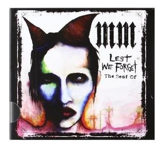 Lest We Forget (slidepack) Por Marilyn Manson