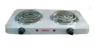 Cocineta Electrica Marca Saco- 2 Puestos Y Excelente Calidad