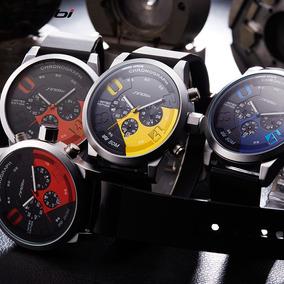 Relógio Sport Masculino Original Sinob Fast Furious