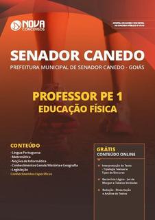 Apostila Senador Canedo Go - Professor Pe 1 Educação Física