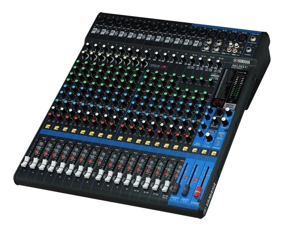Mesa De Som 20 Canais Mg20xu Yamaha- Profissional