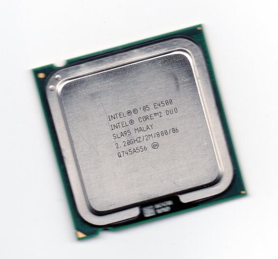 Processador Intel Core 2 Duo E4500 2.20ghz Lga 775 Fsb 800