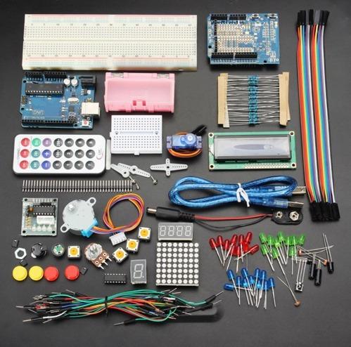 Kit Arduíno Uno R3 Geekcreit Básico Para Iniciantes Fácil
