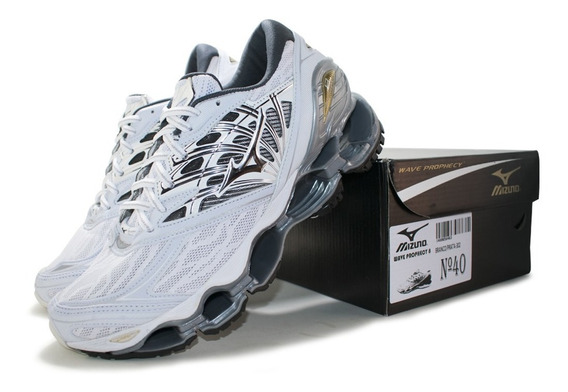 Sapato Masculino Mizuno Wave Prophecy 8 Pro Frete Grátis