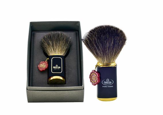 Pincel De Barba Omega Italiano Com Cerdas De Texugo - 6190
