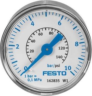 Manómetro Medidor De Presión Aire - Festo - Ma-40-10-1/8-en