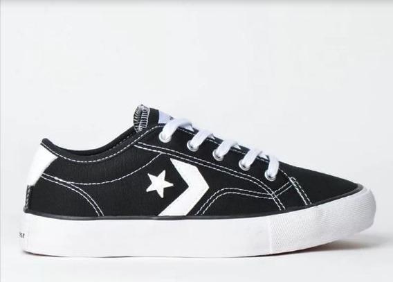 Tênis Converse Star Replay Ox Preto Branco Co02540001
