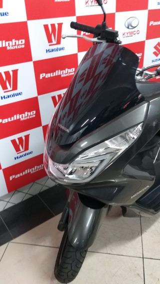 Honda Pcx 150 Cinza-escuro 2017