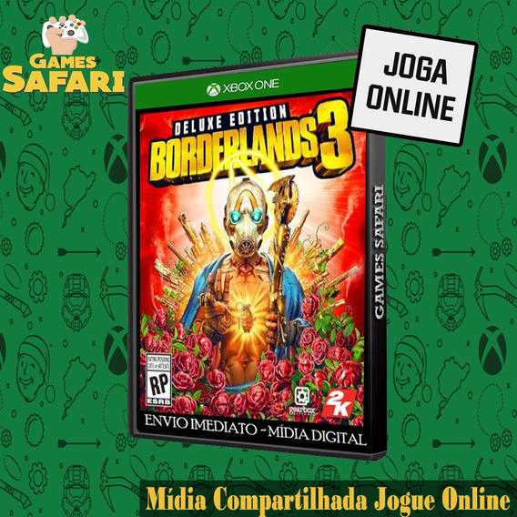 Borderlands 3 Xbox One Digital Midia Edição Deluxe Original