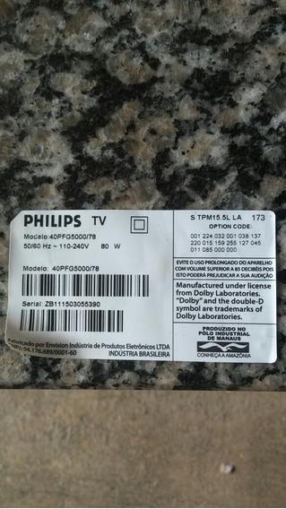 Tv Philips Led.40pfg5000/78..peças Leia Anuncio