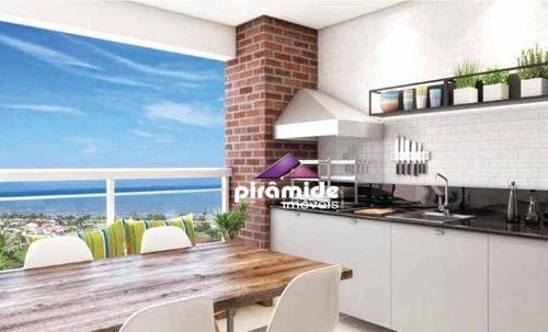 Apartamento Novo, Excelente Padrão, Pertinho Da Praia Das Palmeiras, A Partir De R$ 592.931* Com Entrada Super Facilitada, Em Caraguatatuba/sp - Ap12636